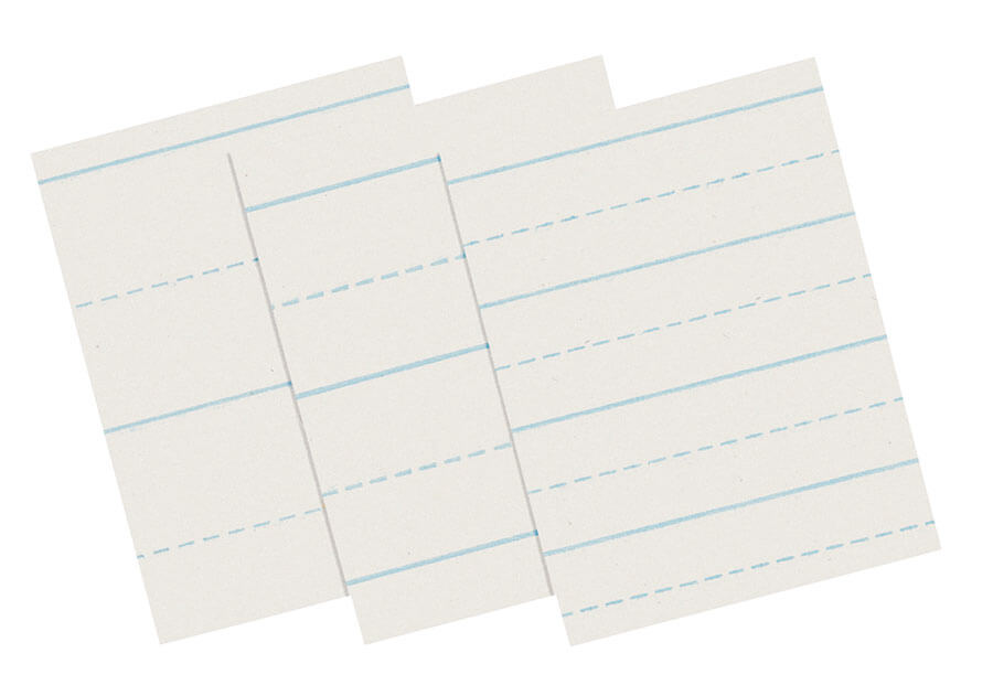 Pacon® Alternate Dotted Ruled Newsprint  View More Products