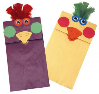 Rainbow® Paper Bag Puppets